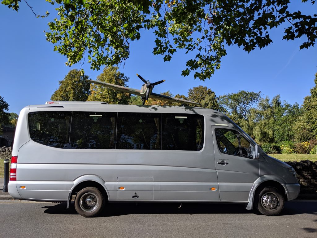 Holt Services VIP 19 seater coach
